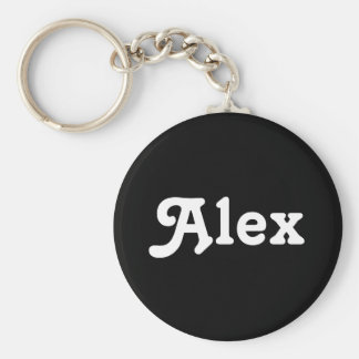 Porte-clés Porte - clé Alex
