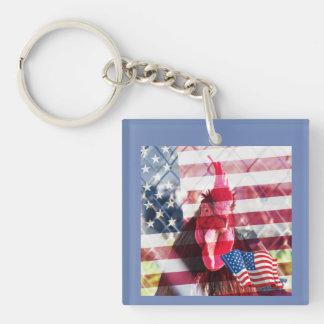 Porte-clés Porte - clé américain de coq