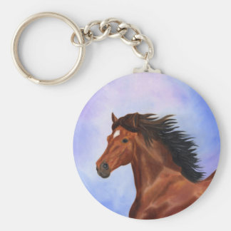 Porte-clés Porte - clé andalou de cheval de Brown