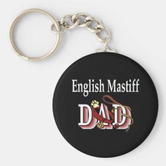 Porte-clés porte - clé anglais de papa de mastiff