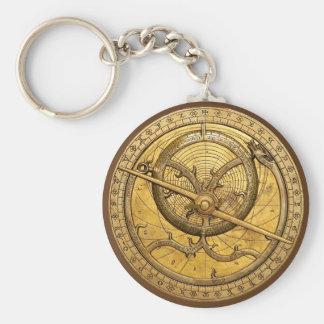 Porte-clés Porte - clé antique d'astrolabe