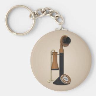 Porte-clés Porte - clé antique vintage de téléphone