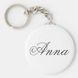 "Porte-clés Porte - clé appelé de ""Anna"" Basic Round"