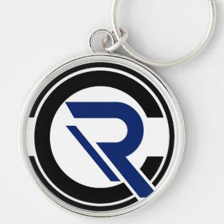 Porte-clés Porte - clé argenté de centre de détection et de