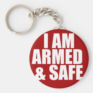Porte-clés Porte - clé armé et sûr