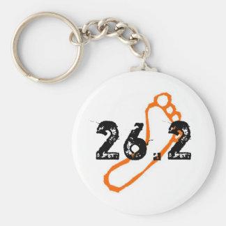 Porte-clés Porte - clé aux pieds nus de marathon