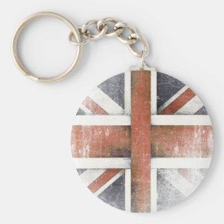 Porte-clés Porte - clé avec le drapeau vintage de la