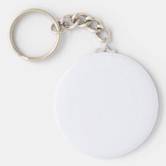 Porte-clés Porte - clé blanc de bouton de fantôme