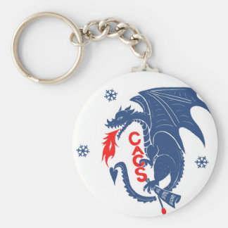 Porte-clés Porte - clé bleu de dragon