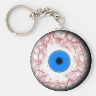 Porte-clés Porte - clé bleu de globe oculaire