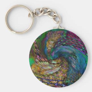 Porte-clés Porte - clé bouclé foncé de couleurs