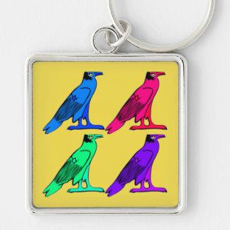 Porte-clés Porte - clé carré d'Eagle d'Egyptien