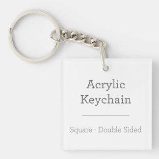 Porte-clés Porte - clé carré personnalisé