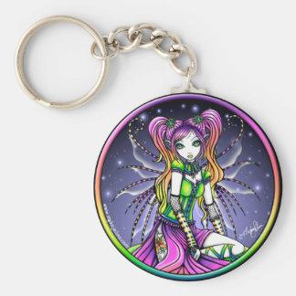 Porte-clés Porte - clé céleste de fée d'arc-en-ciel de Myra