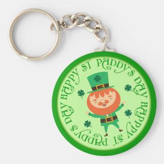 Porte-clés Porte - clé chanceux de jour irlandais de St