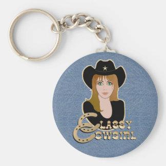 Porte-clés PORTE - CLÉ chic de cow-girl