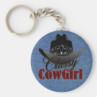 Porte-clés Porte - clé chic de la Reine de rodéo de cow-girl