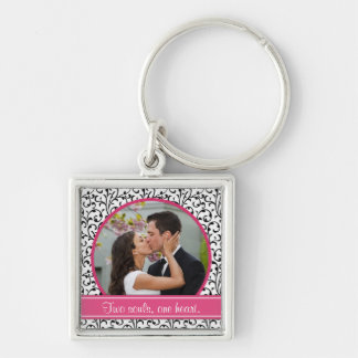 Porte-clés Porte - clé chic de modèle photo de mariage