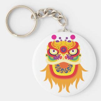 Porte-clés Porte - clé chinois de caractère de fortune