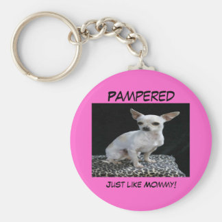 Porte-clés Porte - clé choyé par chiwawa de chien