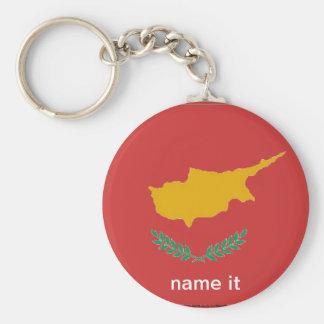 Porte-clés Porte - clé chypriote de drapeau de la Chypre