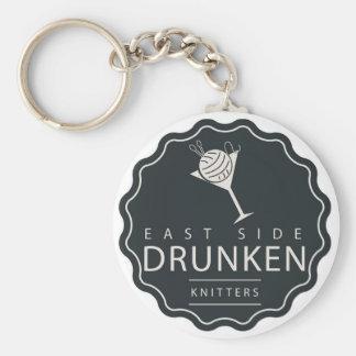 Porte-clés Porte - clé classique de logo d'ESDK