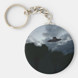 Porte-clés Porte - clé classique de soucoupe volante