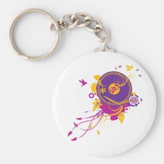 Porte-clés Porte - clé coloré de musique