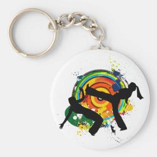 Porte-clés Porte - clé coloré de roda