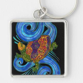 Porte-clés Porte - clé coloré de tortue de mer