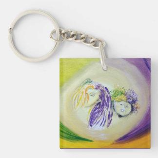 Porte-clés Porte - clé coloré d'elfes