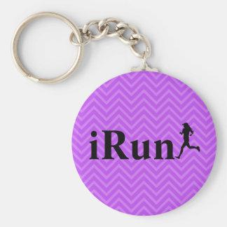 Porte-clés porte - clé courant d'Irun Chevron pour des filles