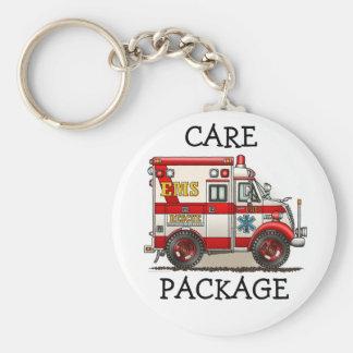 Porte-clés Porte - clé CP d'ambulance de camion de boîte