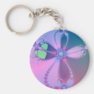 Porte-clés Porte - clé croisé fleuri