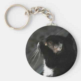 Porte-clés Porte - clé curieux de chat