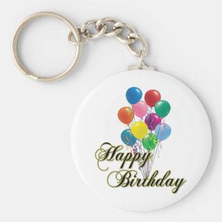 Porte-clés Porte - clé D4 de joyeux anniversaire