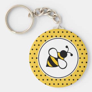 Porte-clés Porte - clé d'abeille de miel
