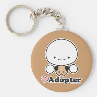 Porte-clés Porte - clé d'adopteur (chien)