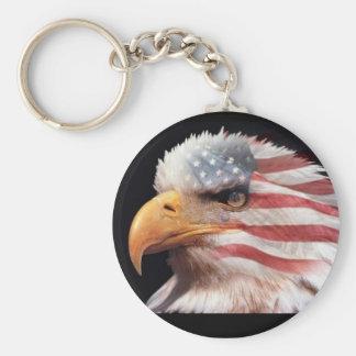 Porte-clés Porte - clé d'aigle des Etats-Unis