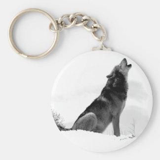 Porte-clés Porte - clé d'Alaska de loup de bois de