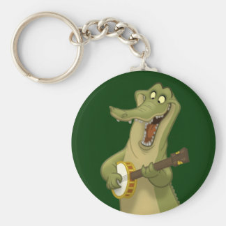 Porte-clés Porte - clé d'alligator de Banjo-Strummin'