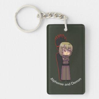 Porte-clés Porte - clé d'Alphonse et de démon