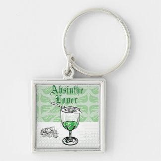 Porte-clés porte - clé d'amant d'absinthe