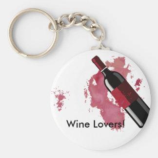 Porte-clés Porte - clé d'amateurs de vin