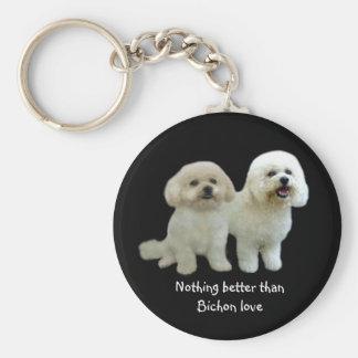 Porte-clés Porte - clé d'amis de Bichon