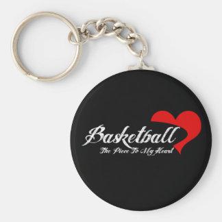 Porte-clés Porte - clé d'amour de basket-ball