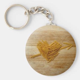 Porte-clés Porte - clé d'amour de spaghetti