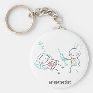 Porte-clés Porte - clé d'anesthésiste