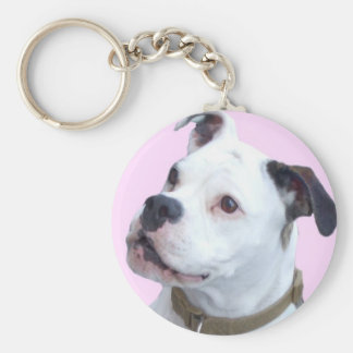 Porte-clés Porte - clé d'antan de Bulldogge de l'anglais