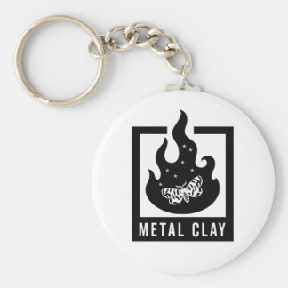 Porte-clés Porte - clé d'argile en métal
